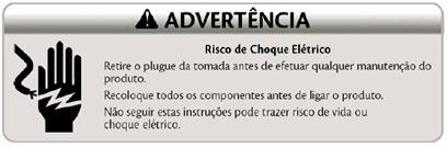 advertncia risco choque lavadora consul floral 7kg thumb Desmontagem e Testes da Lavadora Consul Floral 7kg