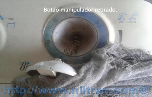 Botão manipulador retirado electrolux le08