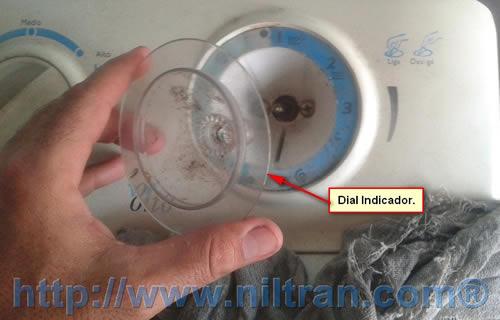 Botão dial indicador retirado electrolux le08