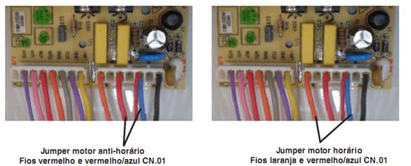 Ligação direto pelo conector da placa 1