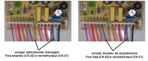 Ligação direto pelo conector da placa 2