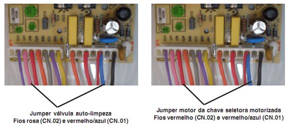 Ligação direto pelo conector da placa 4