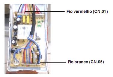 Teste de saída de tensão do sensor de velocidade do motor lrt15