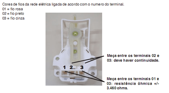 image thumb203 Testando os componentes da Lavadora Electrolux LTR 15