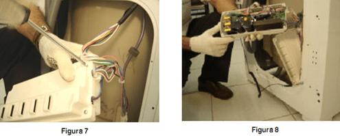 Proteção placa eletrônica