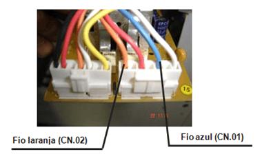 Teste do motor no sentido horário lavadora electrolux lt 50 e 60