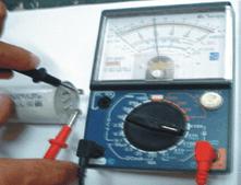Teste Capacitor de marcha Lavadoras GE