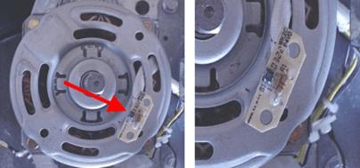 Motor e sensor de velocidade motor lavadoras GE