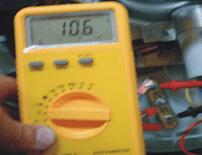 Teste com multímetro da resistência lavadoras GE