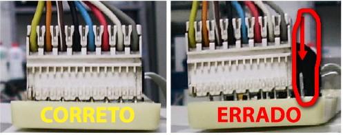 Ligação do conector da placa lavadora brastemp bwq24a
