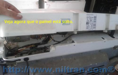 Painel Electrolux le08