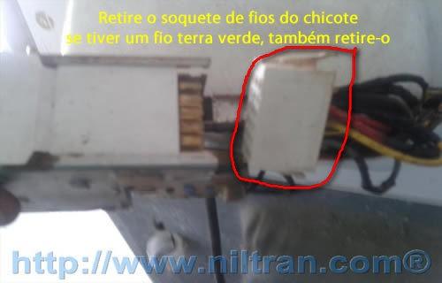Soquete de fios electrolux le08